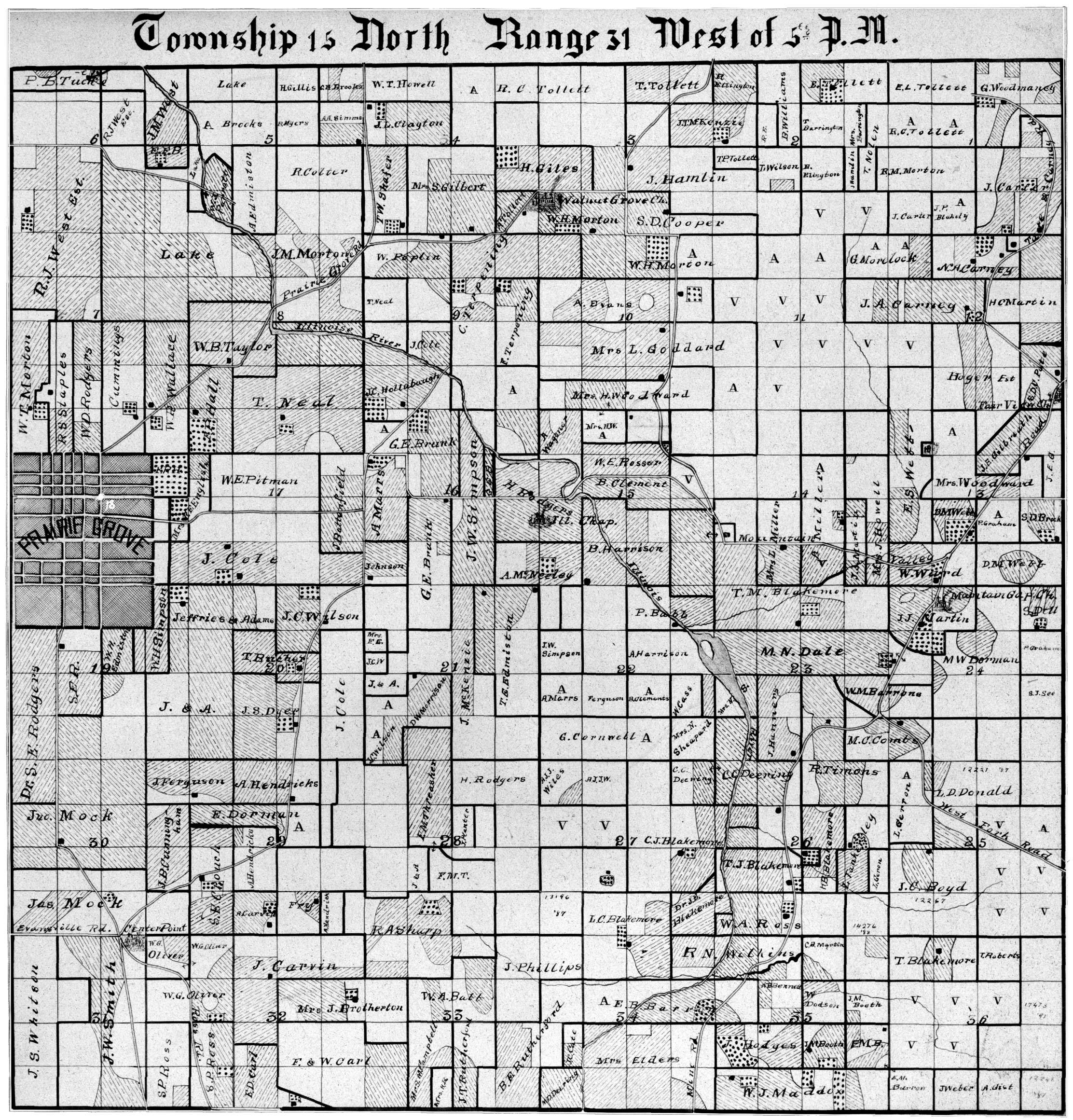 Elevation Of Washington County Ar Usa: Battle Of Prairie Grove » Maps Gallery